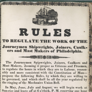 Rules regulating work