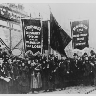 Protest after the Triangle Shirtwaist Fire