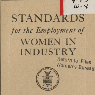Standards for women in industry