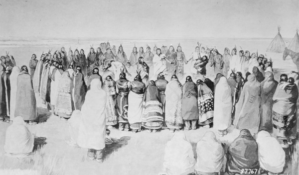 an overview of the ghost dance at wounded knee and the concept of wovoka The ghost dance movement is known for being practiced by the victims of the wounded knee massacre wovoka and the ghost dance, bison overview about careers.