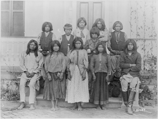 Before Carlisle Indian School Training