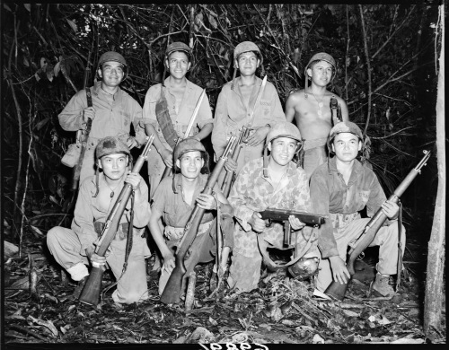 Navajo Code Talkers and World War II