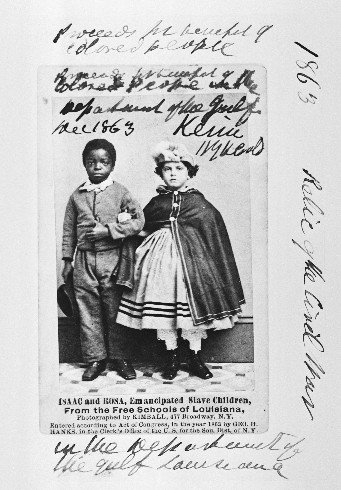 Children Freed by the Union Army