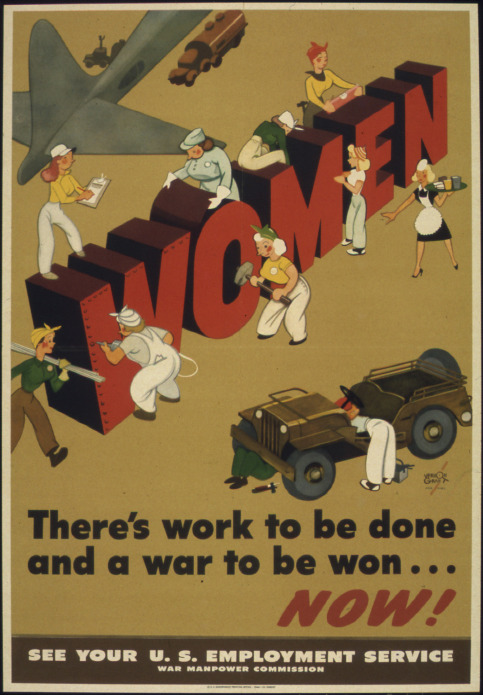 Mobilizing wartime women