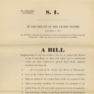 Sumner Civil Rights Bill