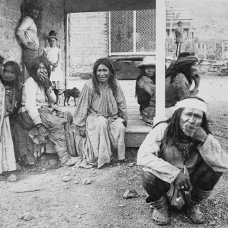 Apache Prisoners at Fort Bowie, Arizona