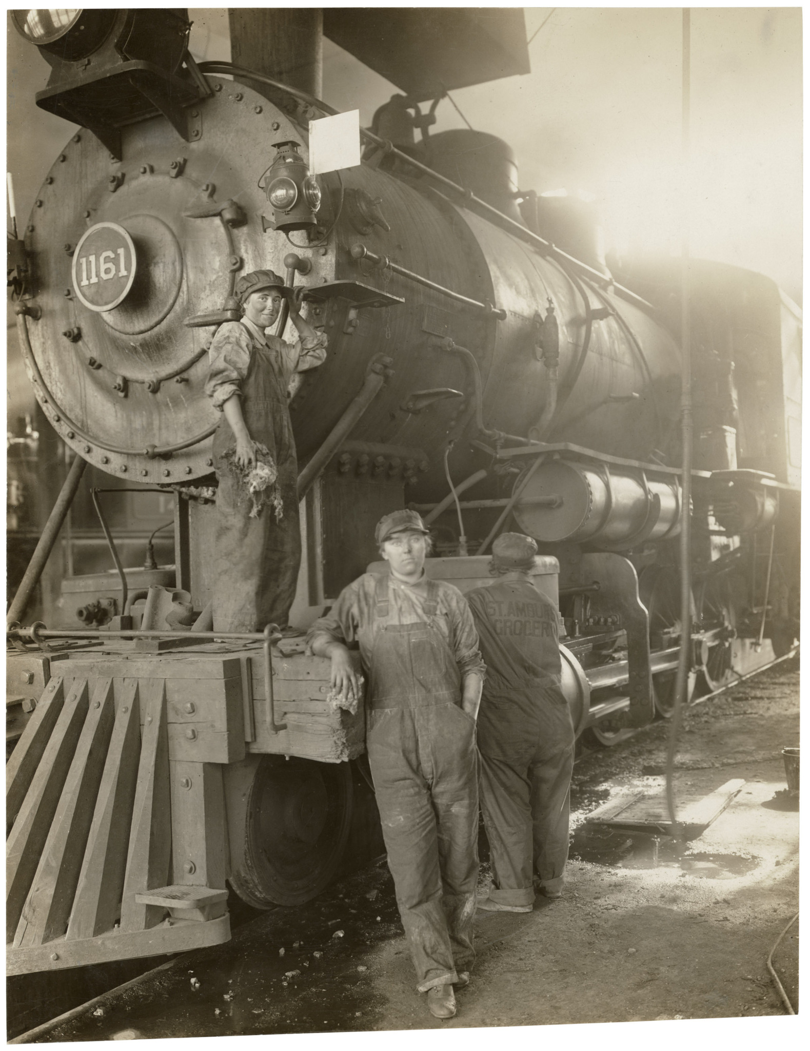 """Working on the Great Northern Railway, Montana"""