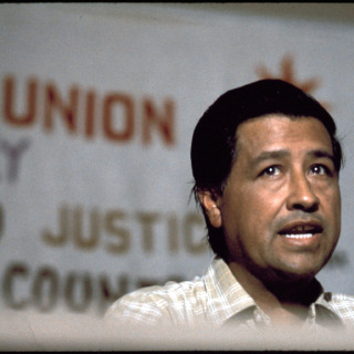 Cesar Chavez, migrant workers union leader