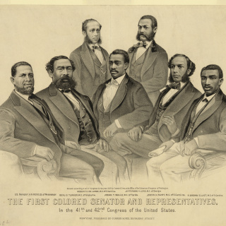 """First Colored Senator and Representatives"""
